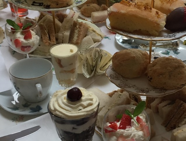 **Cancelled** Afternoon Tea & Prosecco - Sunday 26th April 2020