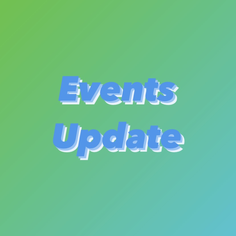 2020 Events Update